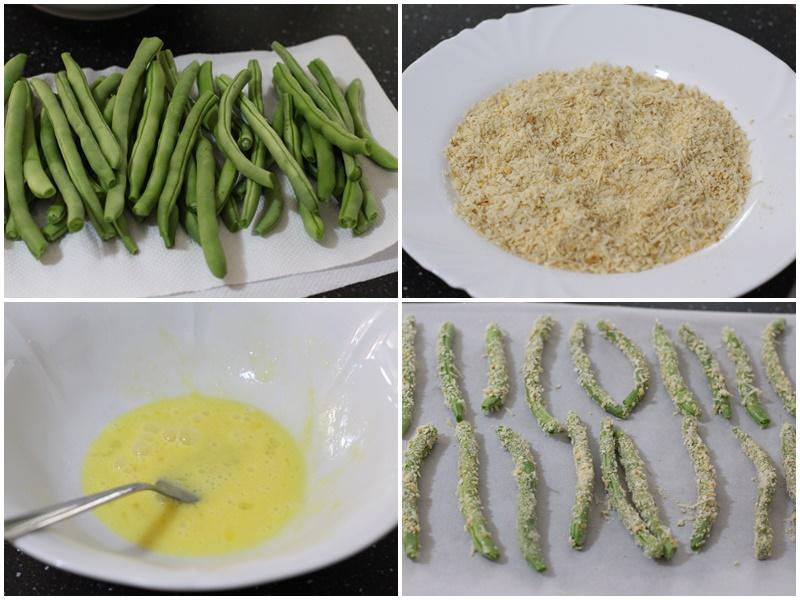 fasole verde pastai la cuptor