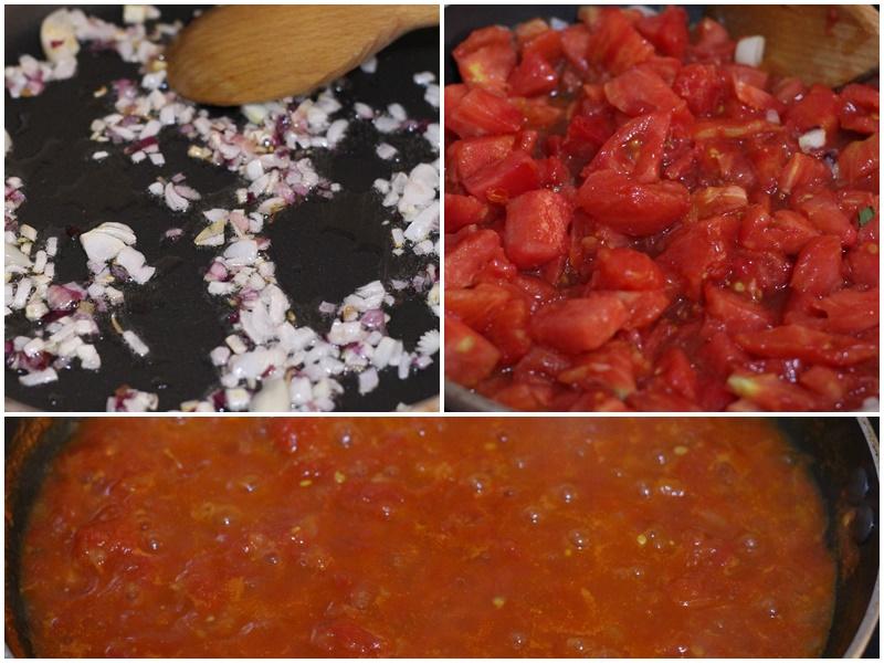 paste cu sos de rosii proaspete