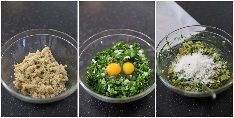 chiftele cu quinoa si legume