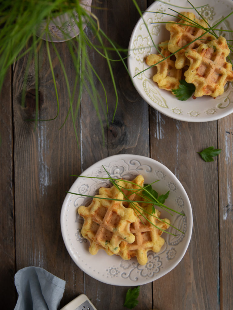 waffles cu cascaval