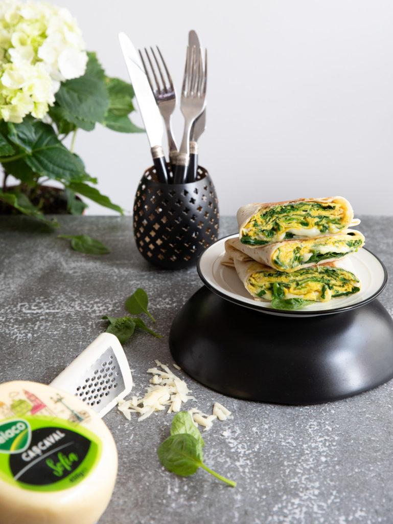 quesadilla cu omleta