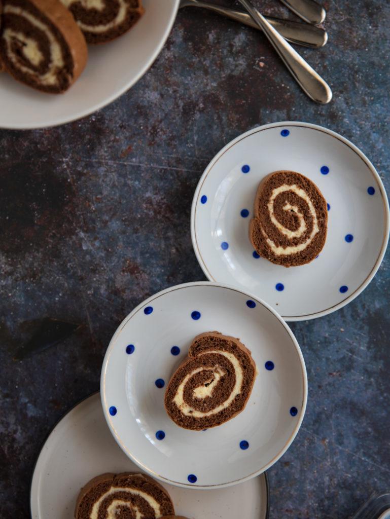 rulada de cacao
