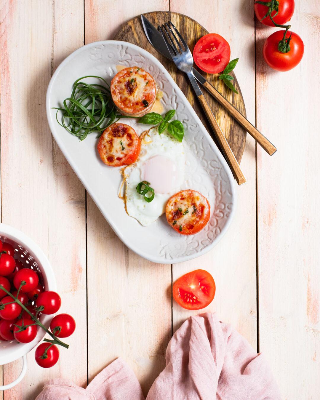 rosii cu mozzarella
