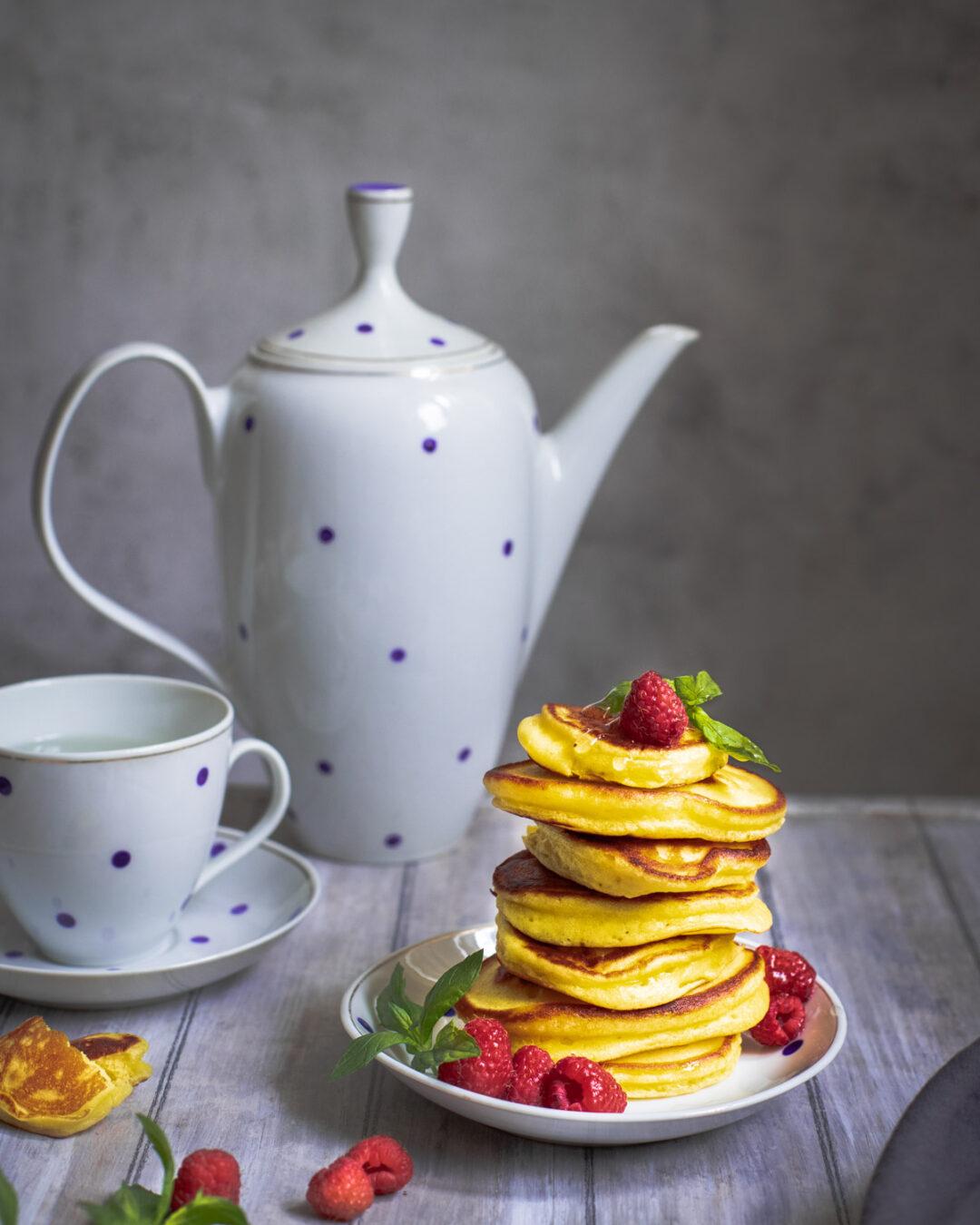 pancakes pufoase cu iaurt