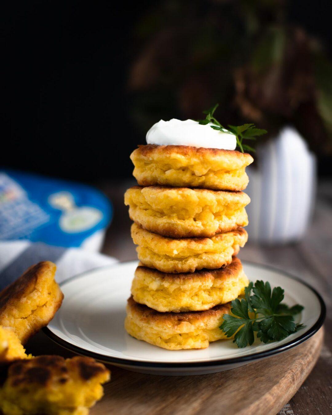 pancakes din branza