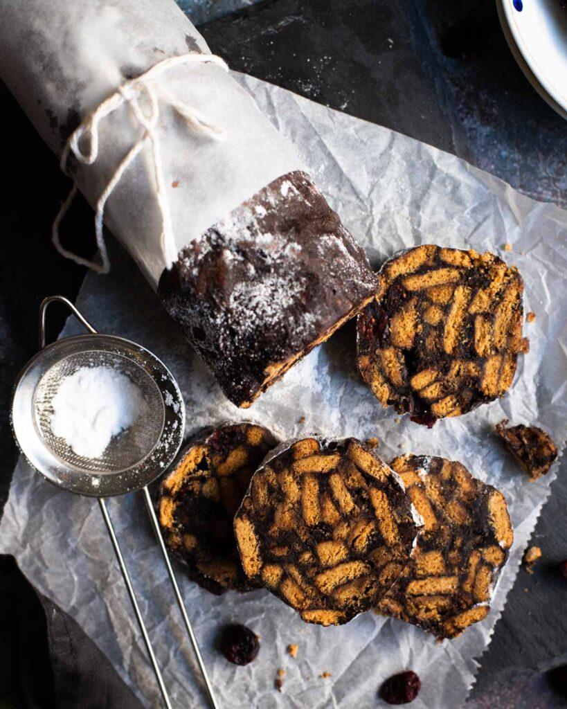 salam biscuiti cu ciocolata
