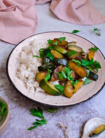 zucchini cu orez